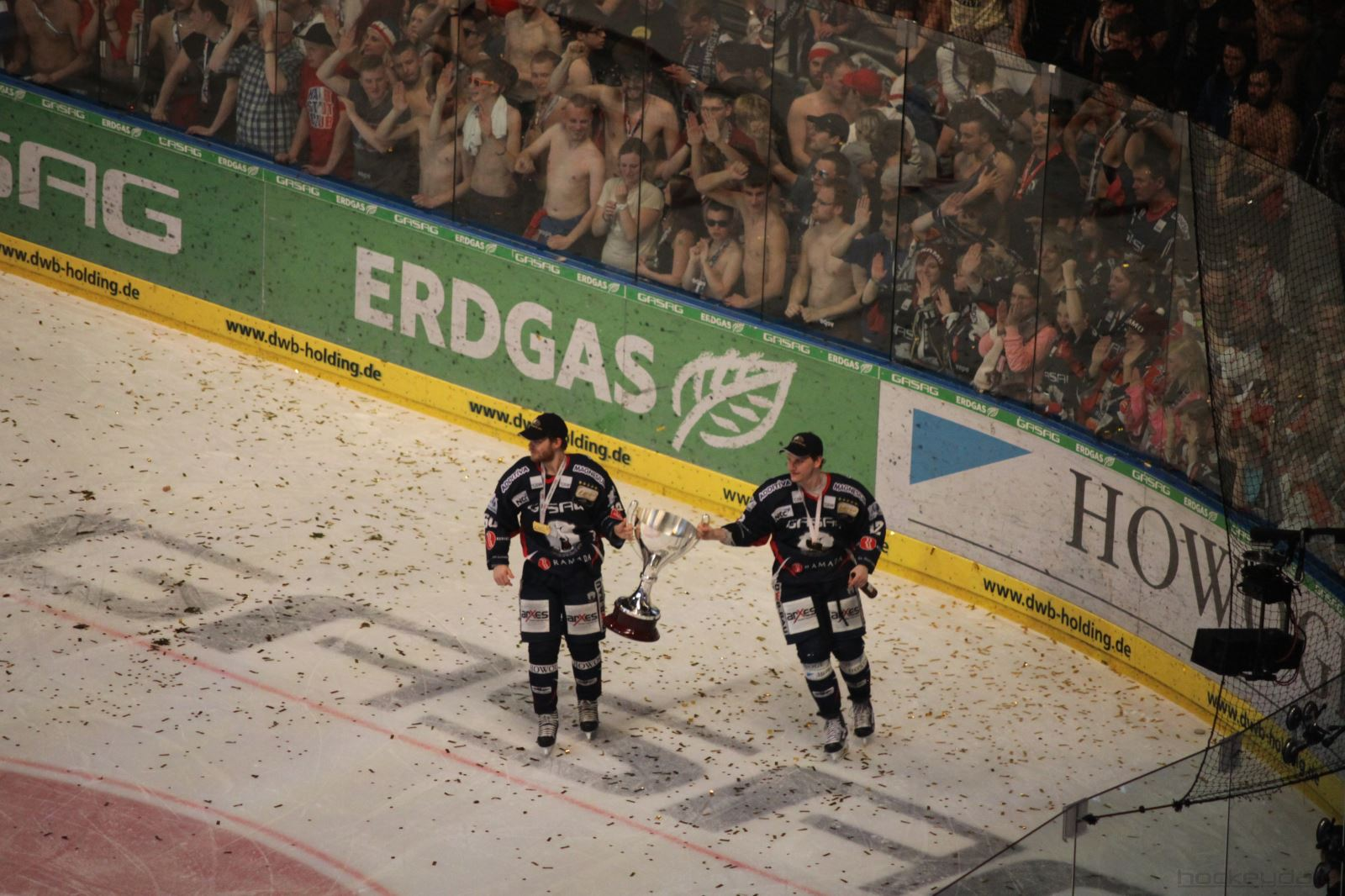 "The ""Eisbären Berlin"" are the new DEL-Champion!"